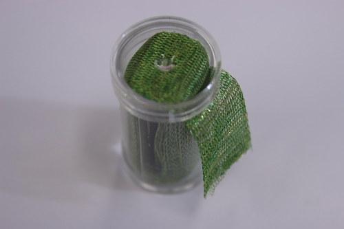 Drátěná dutinka 18-20mm, zelená - 1m