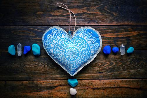 Špalďátko mandalové a modré