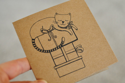 Kočičí dáreček