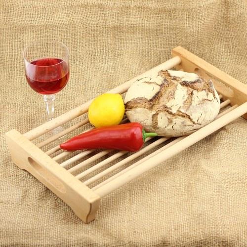 Dřevěná miska na ovoce a potraviny Sandra XL