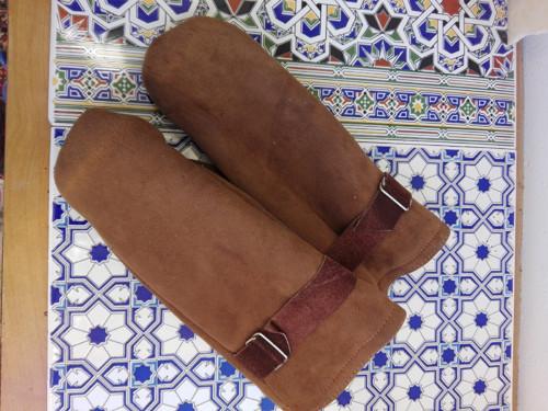 Kožené palčáky...pánske