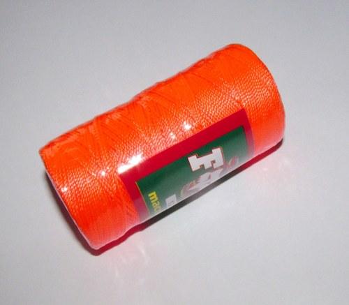 Nitě Hilo macramé neonově oranžová