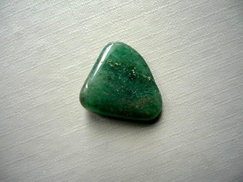 Troml. kámen – avanturín zelený 18 mm, č.7