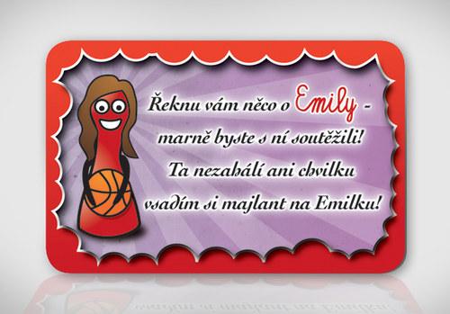 Poetická magnetka se jménem Emily