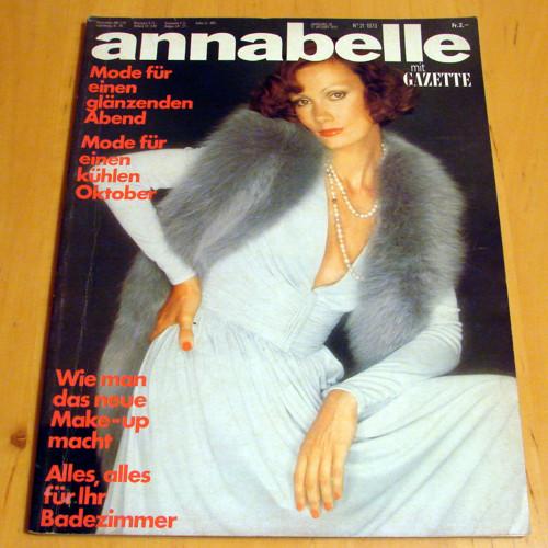 Annabelle č. 21/1973 - módní časopis