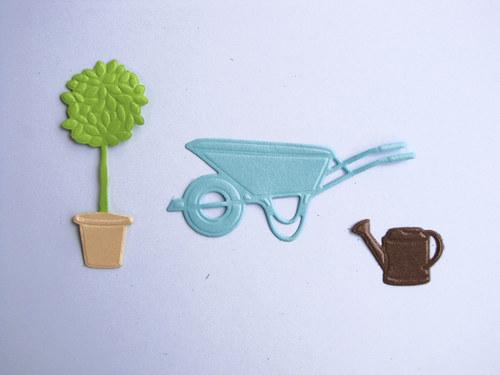 Práce na zahradě - barvy podle přání