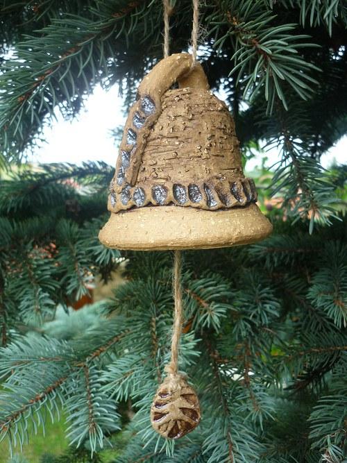 Keramický zvon --10cm