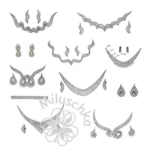Podvinky na paličkované šperky