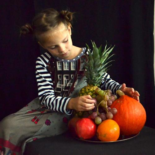 Holandský příběh - dětské šaty