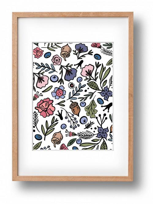 Plakát LOVE FOREVER Flowers