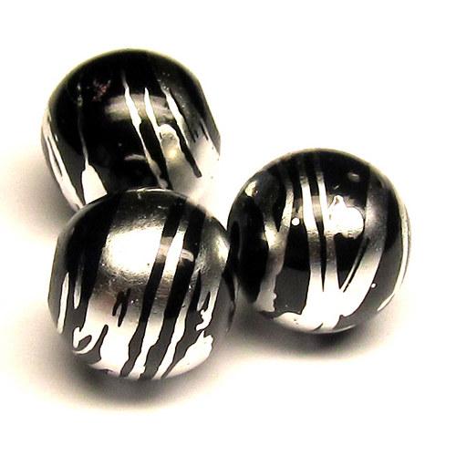 Sklo kovově žíhané - 10 mm - 5 ks