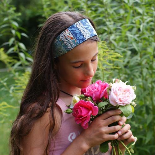Hedvábné léto II ...dívčí čelenka