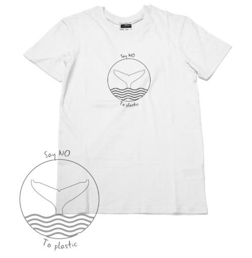 Say NO to plastic - Ocean - BIO bavlna