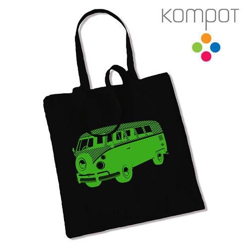 Taška s minibusem :: černá