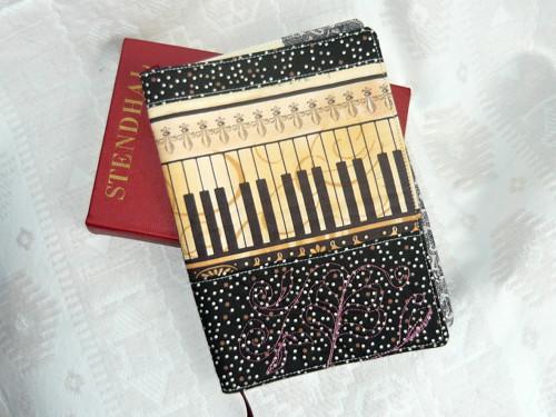 Obal na knihu/diář - Hudba kolem nás