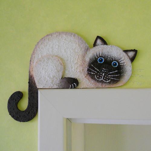 """Kočka na dveře  \"""" foukla do komína \"""""""