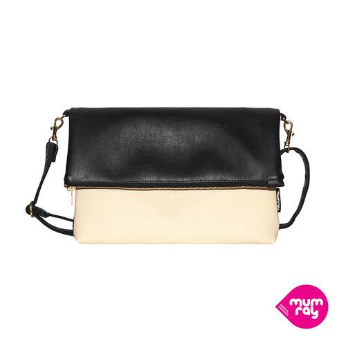 Fold bag Black and White