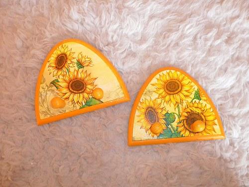 Věšáček - slunečnice