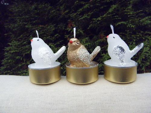 Svíčka - ptáček na čajovce