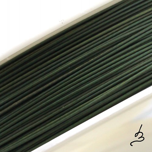Ocelové lanko zelené TM 0,45