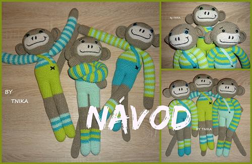 Kámoš opičák - NÁVOD