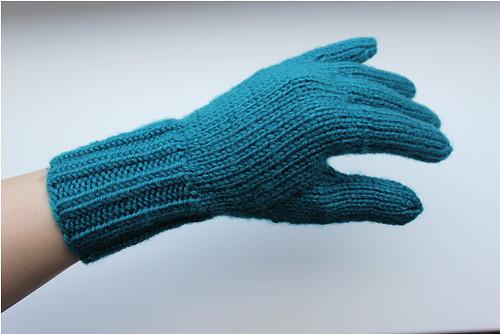 Hřejivé vlněné prstové rukavice