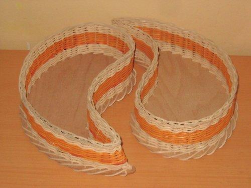 košíky Jing-Jang