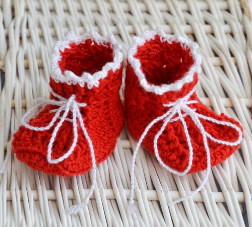 Vánoční skřítek - botičky