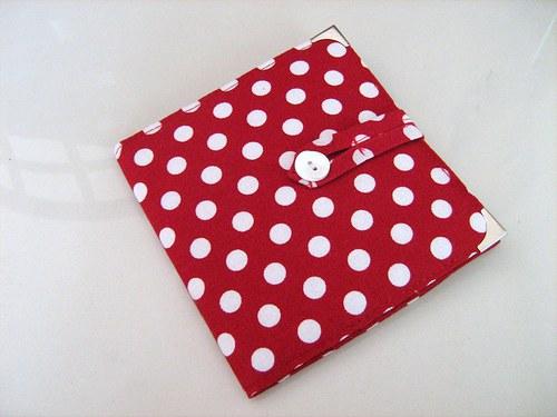 Red DOTS - peněženka - dokladovka