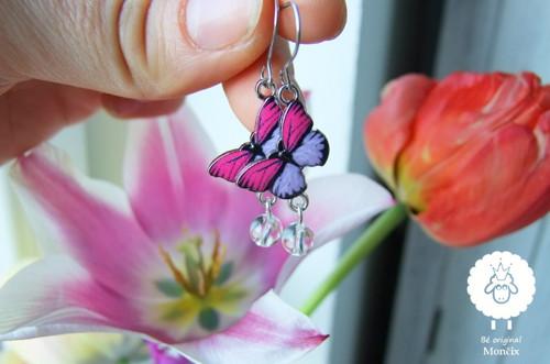 Smalt, ocel, minerál - motýlci