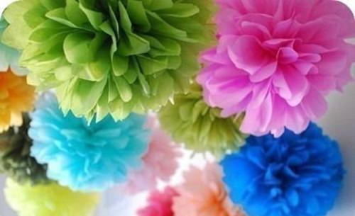 Pom-poms,květiny,dekorace,oslavy,svatby 30cm