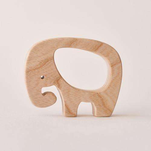 Dřevěné kousátko  - Slon