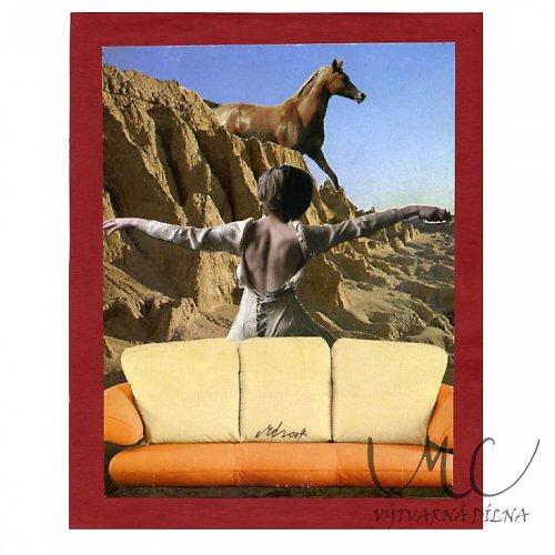 Jezdci (16x20cm)