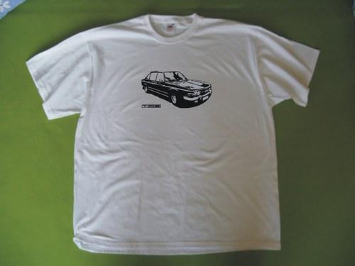 tričko Tatra 613 - retro motiv