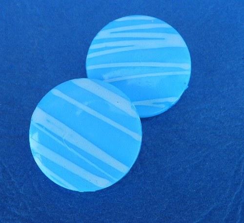 Proužkový modrý - 2ks