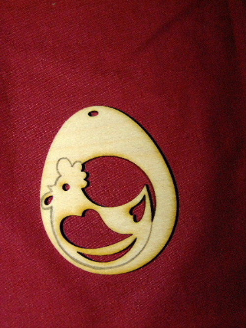 Velikonoční vajíčko SLEPIČKA