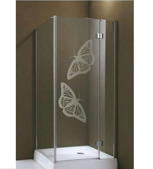 (003g) Nálepka na sprchovací kút