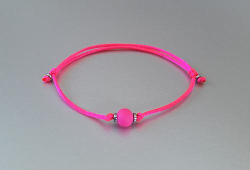 Náramek / Kabalah / Neon růžový /