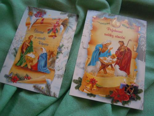 Vánoční pohlednice č.3