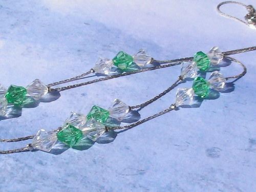 "Sleva - \""Zeleno bílé diamanty\"""
