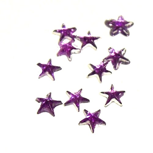 Zirkony - tvar hvězda