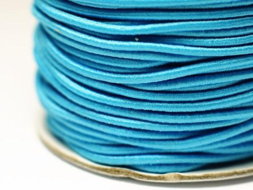 pruženka kulatá 2 mm- modrá