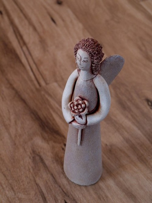 Anděl s květinou (malý)