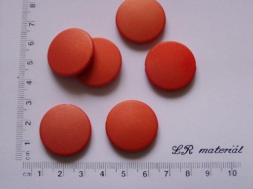 Oranžové placky 5 ks