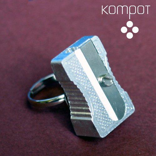 OŘEZÁVÁTKO prsten - stříbrný