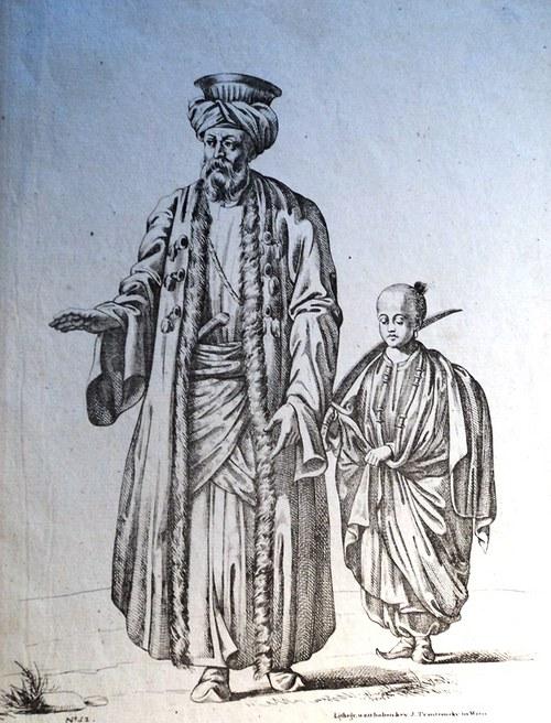 Gruzie,  Alžír, Sardinie staré tisky kol. 1850 ...