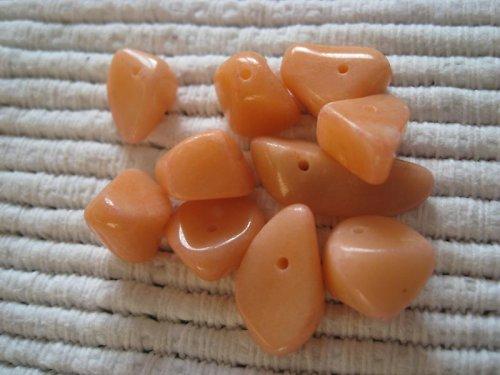 Gemstone,barvené kamínky-korálky, 20 ks / 16,-- Kč