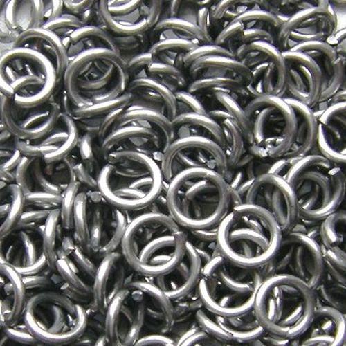 hliníkové kroužky vel 10/1.6 100ks