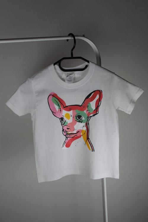 Dětské triko s motivem psa
