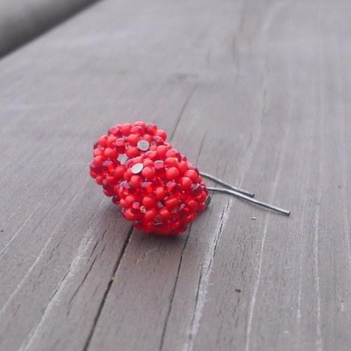Šité kuličky valentýnské